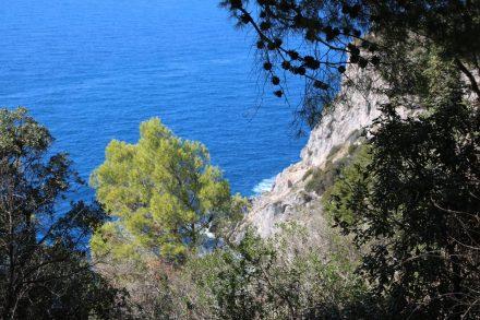 Steilküste und wunderschöne Farben rund um den Monte Argentario.