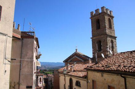 Chiesa di San Leonardo in Manciano.