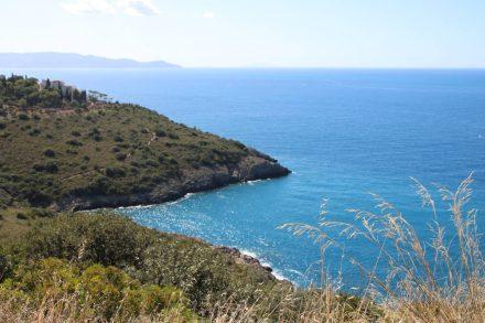 Einsame Buchten an der Halbinsel Monte Argentario.