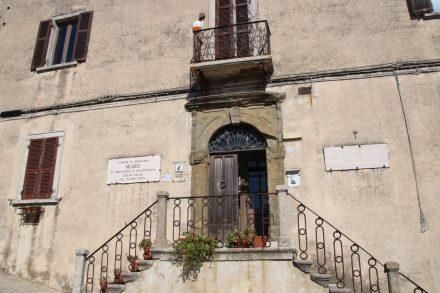 Mitten in der Altstadt von Manciano liegt das prähistorische Museum.