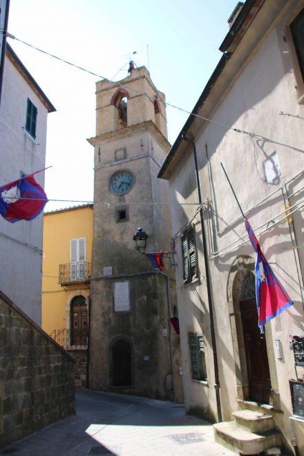 Die Altstadt von Manciano ist sehr ursprünglich.