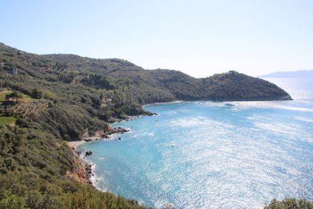 Die türkisfarbenen Buchten am Monte Argentario.