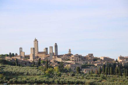 Der höchste der 15 noch bestehenden Türme ist der Torre Grossa.