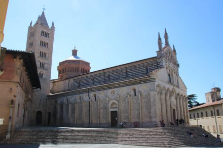 Die prächtige Kathedrale am Hauptplatz von Massa Marittima.