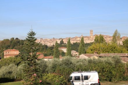Besuch bei den Etruskern im liebenswerten Volterra