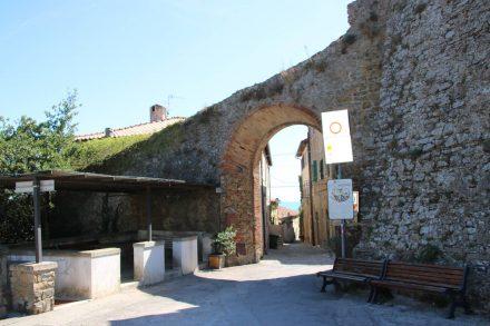 Die Altstadt von Castiglione della pescaia ist Fußgängerzone.