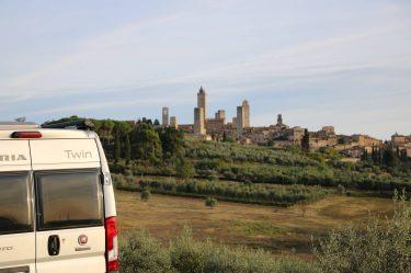 Höhepunkt auf der Wohnmobil-Reise durch die Toskana.