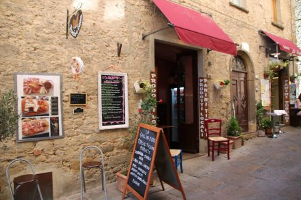 Volterra ist trotz des Tourismus sehr authentisch und lebendig geblieben.