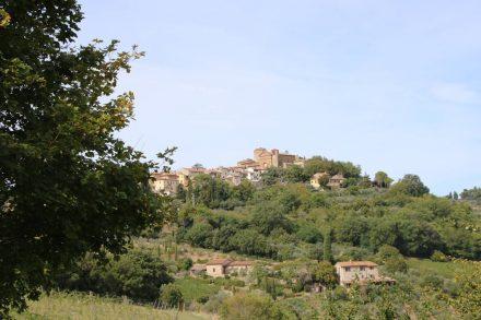 Startpunkt für die Biketour ist Panzano im Chianti.