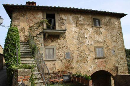Das Bergdorf Volpaia hat sich seinen mittelalterlichen Charme erhalten.