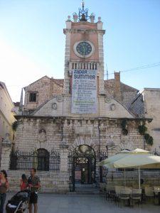 Idyllisch ist das historische Stadtzentrum von Zadar.