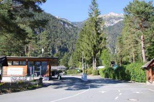 Schluga Seecamping bei Hermagor im Gailtal.