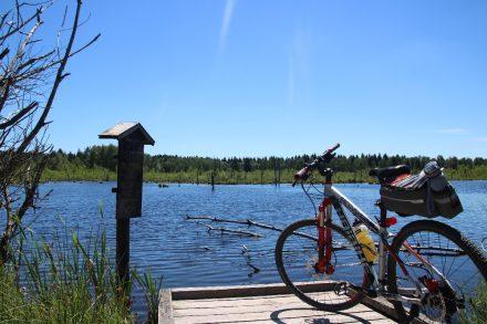 Mit Wohnmobil und Bike auf der Neckartal-Radtour