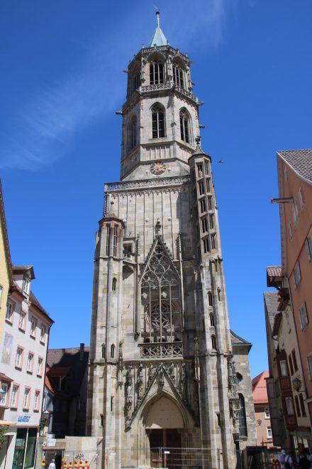 Die gotische Kapellenkirche aus dem 13. Jahrhundert