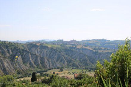 An den markischen Hügeln haben sich eindrucksvolle Spuren der Erosion gebildet