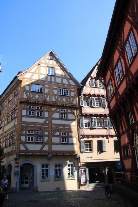 Rund 200 alte Fachwerkhäuser zieren die Innenstadt von Esslingen.