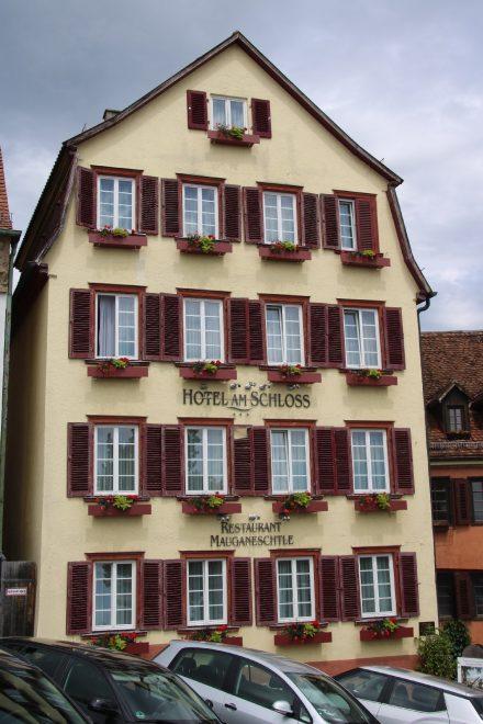 Das traditionsreiche Hotel am Schloss in Tübingen.