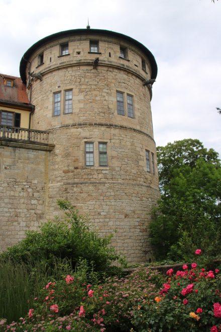 Der Turm im Schloss Hohentübingen.