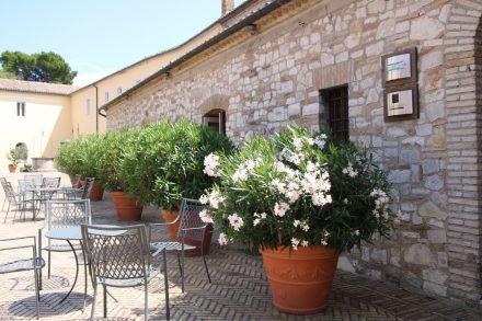 Das ehemalige Kloster Monte Conero ist zum Hotel umgebaut