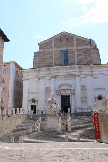 Das Stadtmuseum von Ancona in einem ehemaligen Krankenhaus