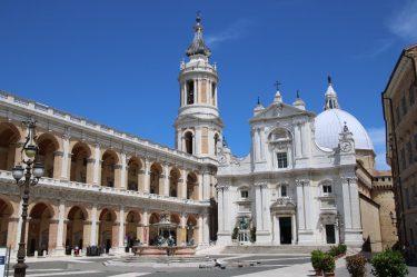 Das Herz des Pilgerortes Loreto in den Marken