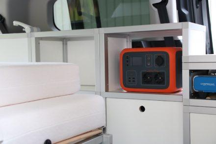 Der mobile Power-Cube Oak PS6 mit Lithium-Ionen-Technologie und 45 Ah kann vielseitig geladen werden