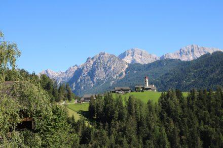 Wunderschöne Ausfahrt von Bruneck über St. Vigil in Enneberg und über den Furkelpass bis nach Antholz