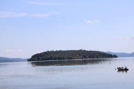Die Isola Maggiore im Lago di Trasimeno kann man mit dem Schiff erreichen