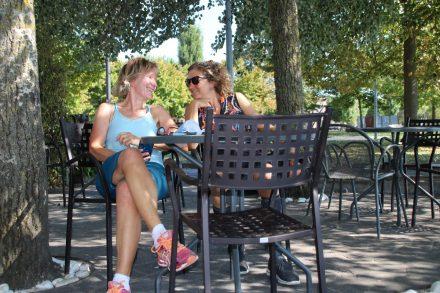 Radfahren rund um den Lago di Trasimeno mit zahlreichen Kaffeepausen