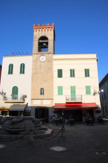 Das Municipio in der Altstadt von Castiglione del Lago