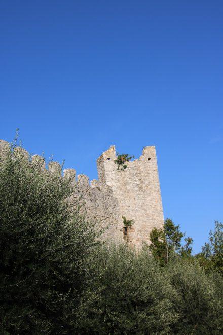"""Die """"Löwenfestung"""" in Castiglione del Lago"""