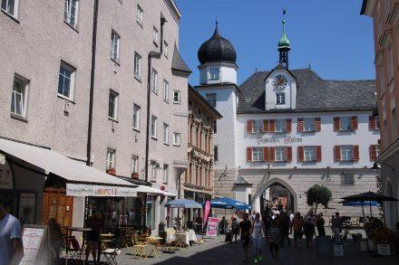 Im historischen Mittertor in Rosenheim ist das historische Stadtmuseum