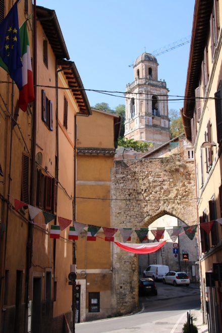 In Perugia gibt es unendlich viele Gassen zu entdecken