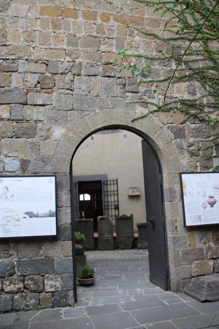 In der Festung von Bolsena ist ein Regional-Museum untergebracht