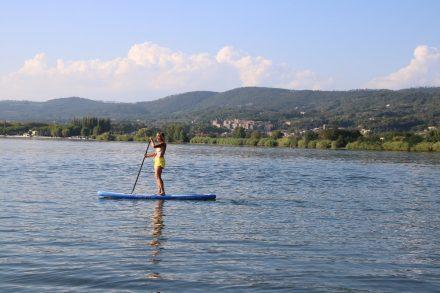 Spätsommer Camping am Lago di Bolsena