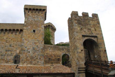 Die mittelalterliche Festung über Bolsena