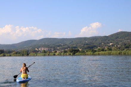 Wunderschön ruhig auf dem Bolsena See in der Nachsaison