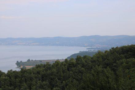 Der Lago und Bolsena im Hintergrund