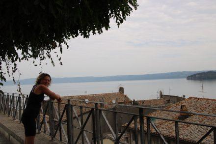 Auf der Aussichtsplattform in Marta