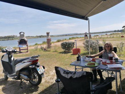 Die Premium Parzelle direkt an der Lagune mit eigenem Grillplatz