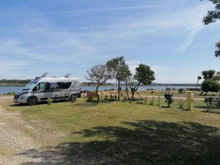 Erster Tag auf Sardinien am Camping Laguna Blu bei Alghero