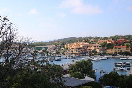 Blick auf die Marina von Porto Cervo