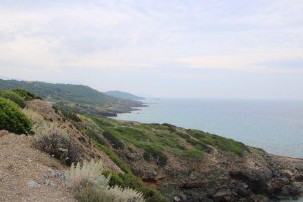 Die Fahrt von der West- an die Ostküste im Norden Sardiniens