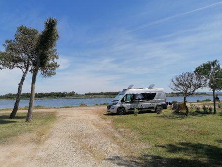 Der Campingplatz Laguna Blu bei Alghero an der Nord-Westküste Sardiniens