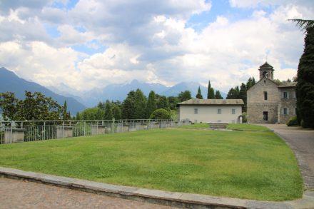Das Kloster di Piona kann besichtigt werden