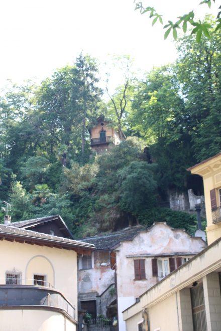 Die alten Gemäuer von Chiavenna können eine lange Geschichte erzählen