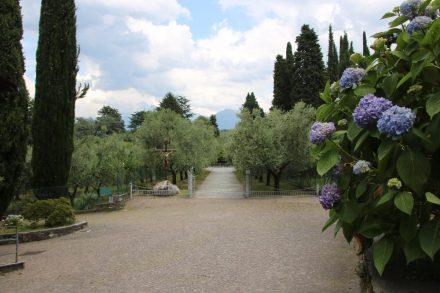 Die Mönche der Abtei di Piona leben vom Verkauf ihrer Erzeugnisse
