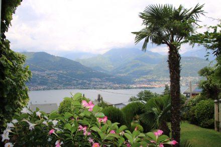 Ein wirklich schöner Platz ist das Restaurant Conca Azzurra hoch über dem Comer See