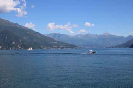 Wunderschönes See-Panorama von Bellagio aus