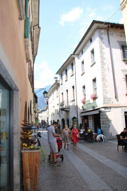 Chiavenna war schon zur Römerzeit ein wichtiger Knotenpunkt für Alpenüberquerungen